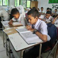 Kegiatan Literasi Membaca Al-Qur'an
